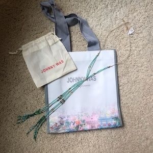 NWT Johnny Was Pippa Lariat Necklace